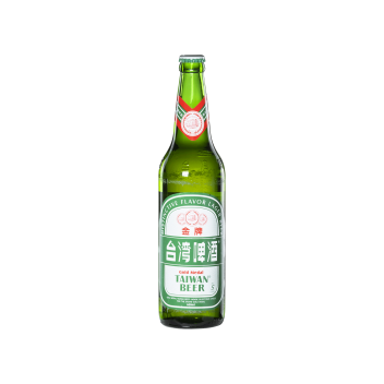 Gold Medal Taiwan Beer (Bottle 60cl) - Taiwan Tobacco & Liquor Corporation