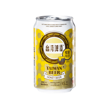 Taiwan Beer honey beer (Can 33cl) - Taiwan Tobacco & Liquor Corporation