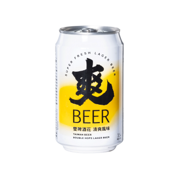 Taiwan Beer Song Beer (Can 33cl) - Taiwan Tobacco & Liquor Corporation