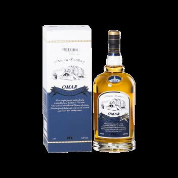 Omar Single Malt Peated Whisky (Duty-Free) - Taiwan Tobacco & Liquor Corporation