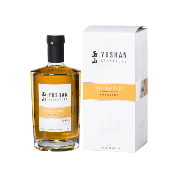 Yushan Signature Single Malt Whisky (Bourbon Cask) - Taiwan Tobacco & Liquor Corporation
