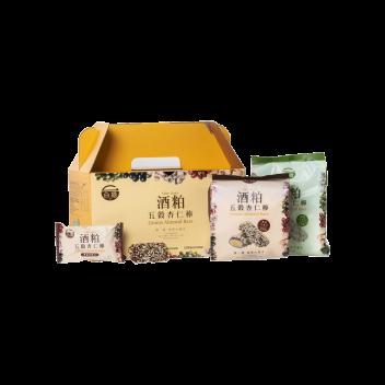 Grains Almond Bars (126g x 2 packs) - Taiwan Tobacco & Liquor Corporation