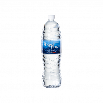 Angkor Puro Purify Water (Bottle 1,5L) - Cambrew Ltd / Part of Carlsberg Group
