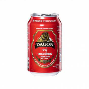 Dagon Extra Strong Beer (Can 33cl) - Dagon Beverages Co.Ltd