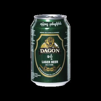 Dagon Lager Beer (Can 33cl) - Dagon Beverages Co.Ltd