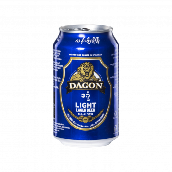 Dagon Light Lager Beer (Can) - Dagon Beverages Co.Ltd