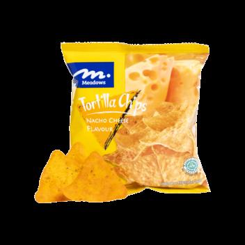 Tortillas Chips Nacho Cheese Flavour (35g) - DFI Brands Limited